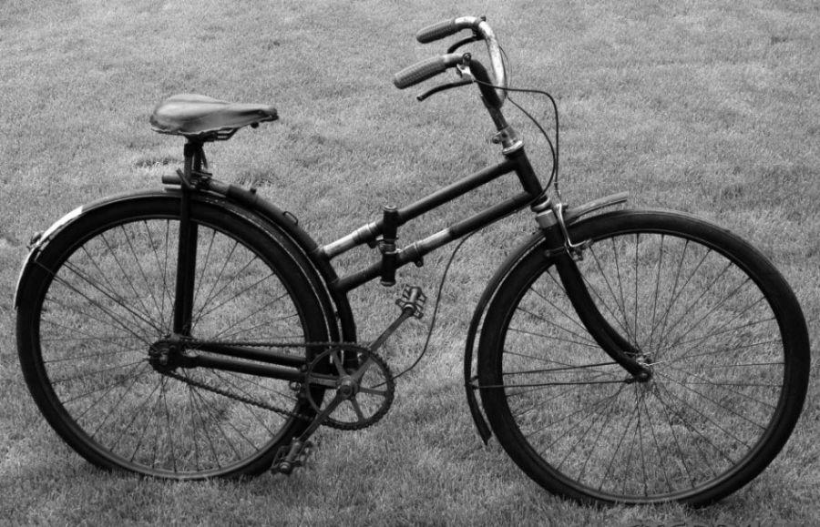 historia de la bicicleta plegable - bicicletas plegables bici plegable